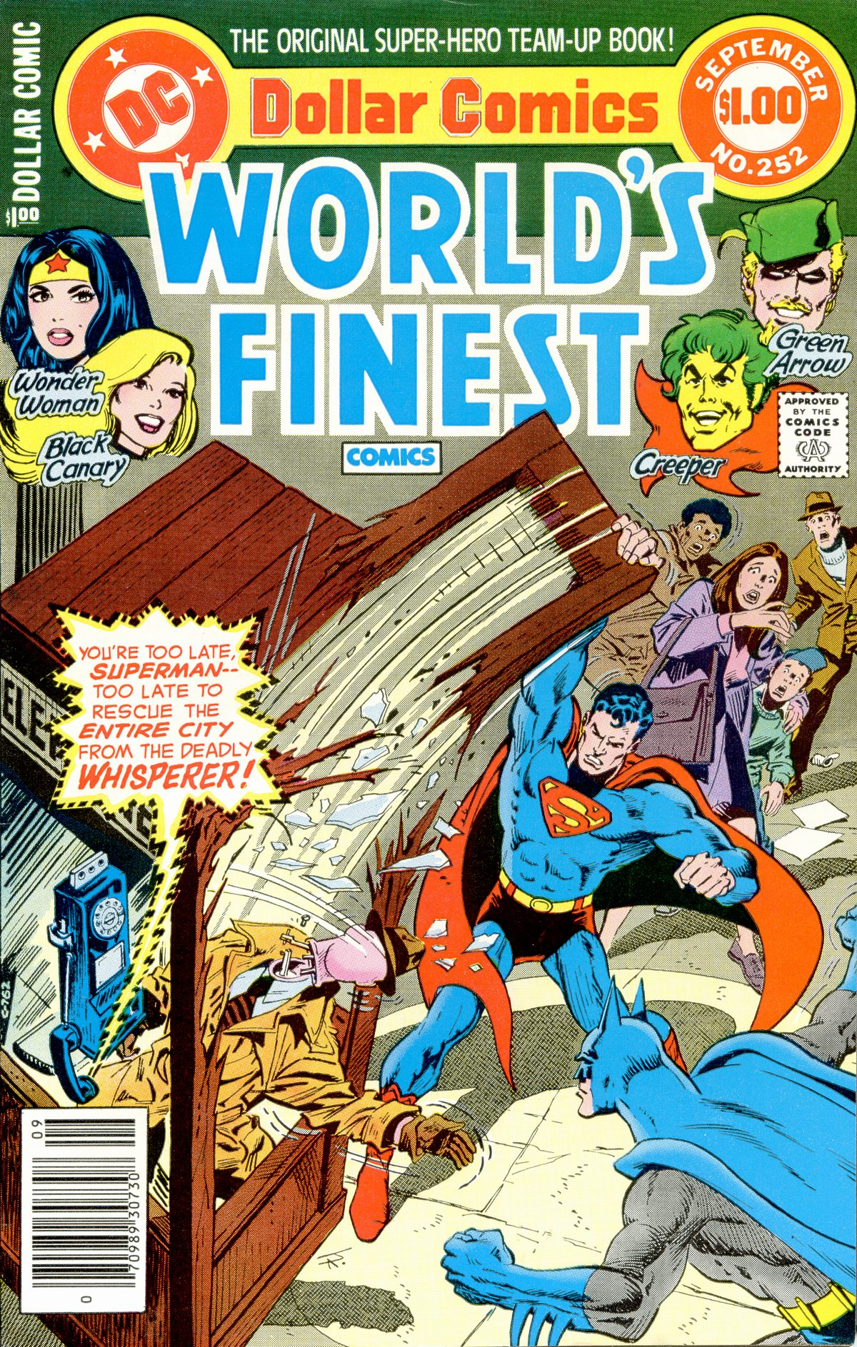 Read online World's Finest Comics comic -  Issue #252 - 1