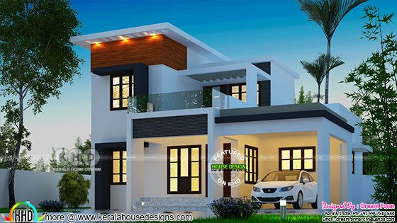 4 bedroom modern beautiful home architecture 1628 sq-ft