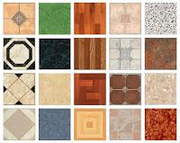 Çeşitli renk ve desenlerde marley örnekleri