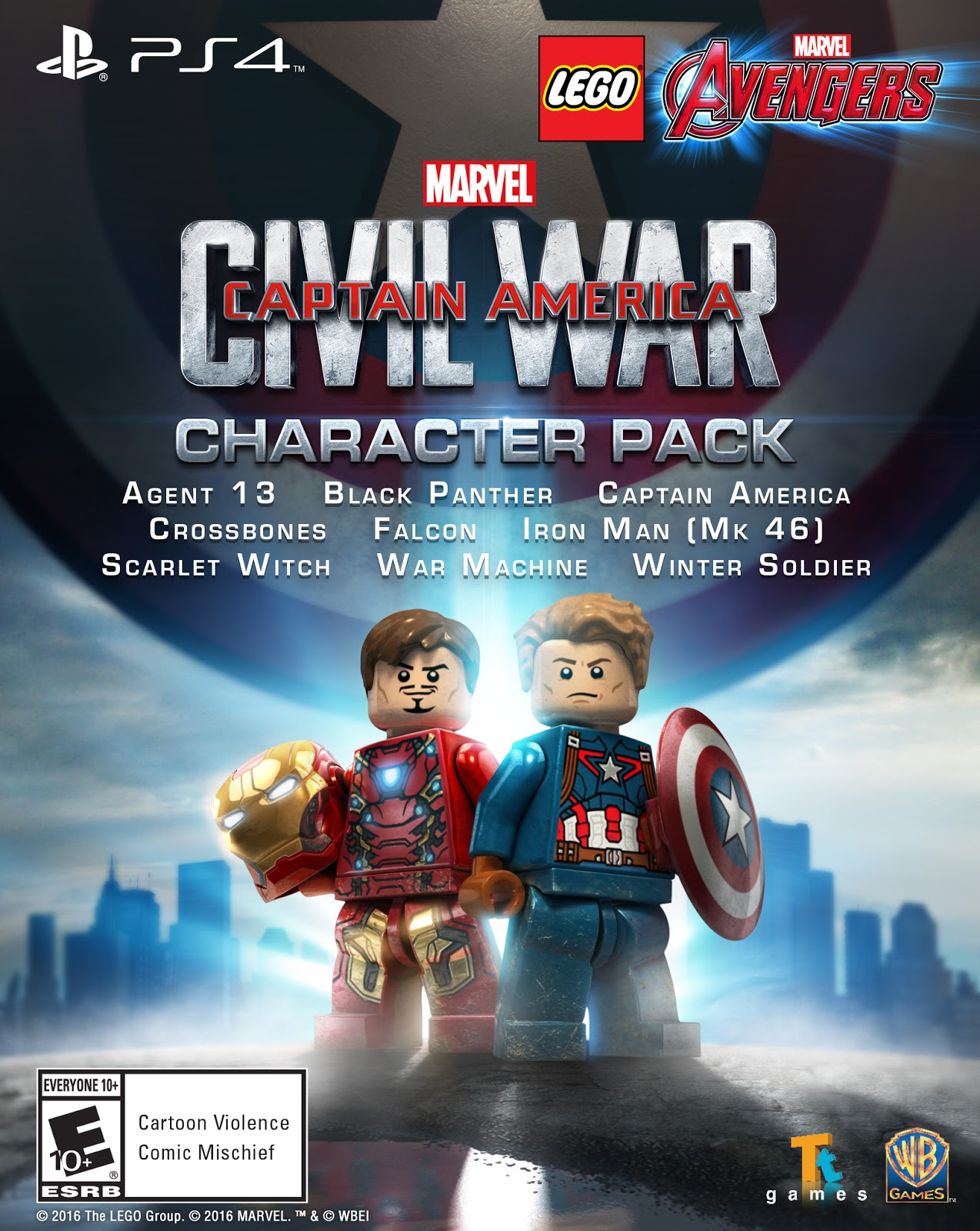 Super Heroes Once United Now Find Themselves Divided Marvels Captain America Civil War Character Pack Expands The Games Already Impressive Roster Of