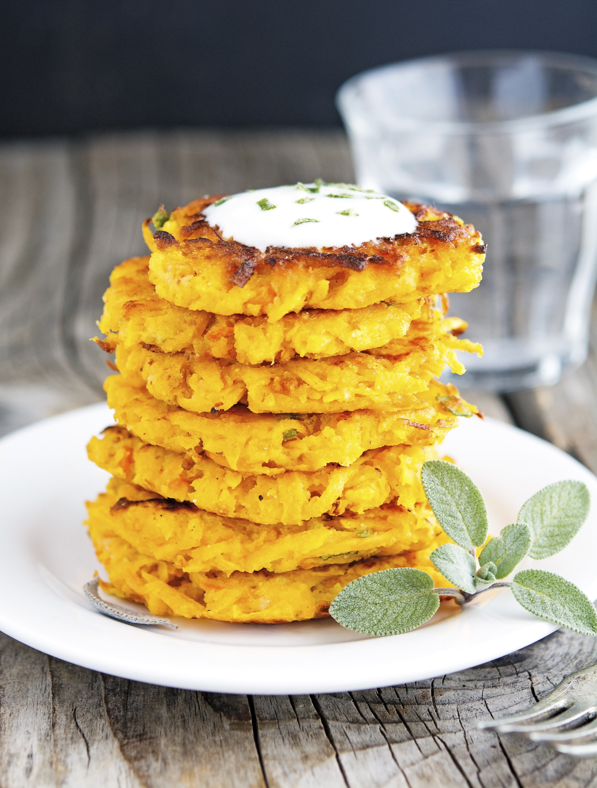 Butternut Squash Fritters (Low Carb & Gluten-Free)