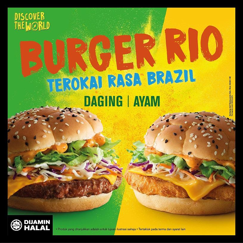 Burger Rio McDonalds Kembali!