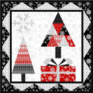 Quilt Inspiration: Free pattern day: Christmas quilts (part 1): Trees! : christmas wall hanging quilt patterns - Adamdwight.com