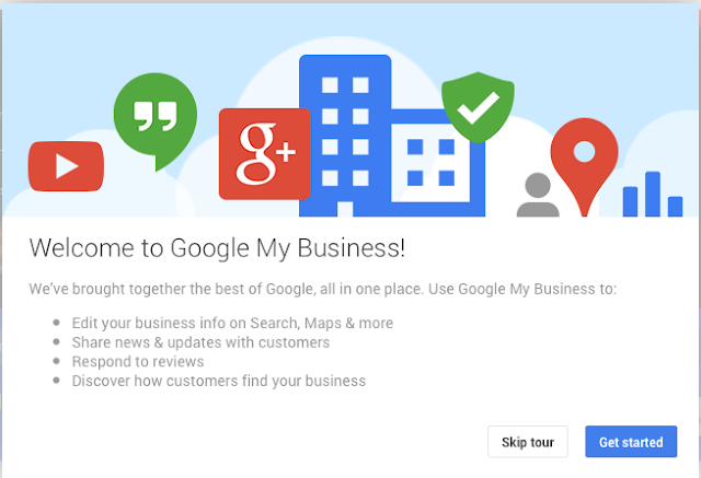 Make a google business account Here