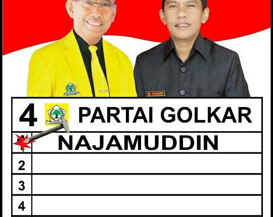 Najamuddin Tetap Di Dambakan Masyarakat Malili.