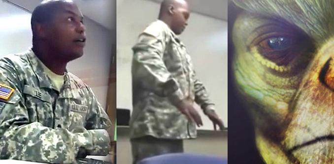 Ένας Αμερικανός στρατιώτης σε BINTEO περιγράφει  ότι απήχθη από εξωγήινους  και είδε τρεις φυλές εξωγήινων!