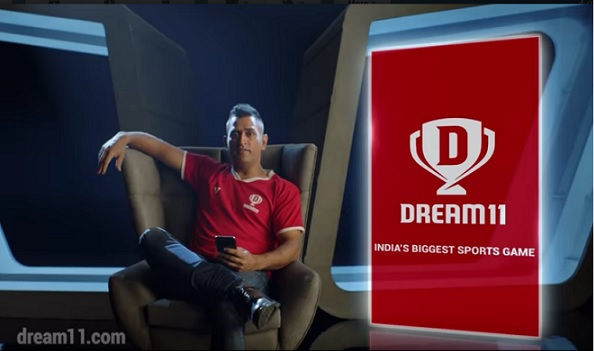 MS Dhoni in Dream11's new advertising campaign