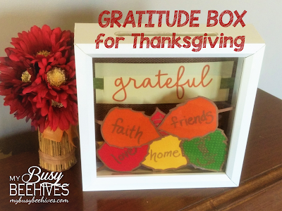Thanksgiving Gratitude box