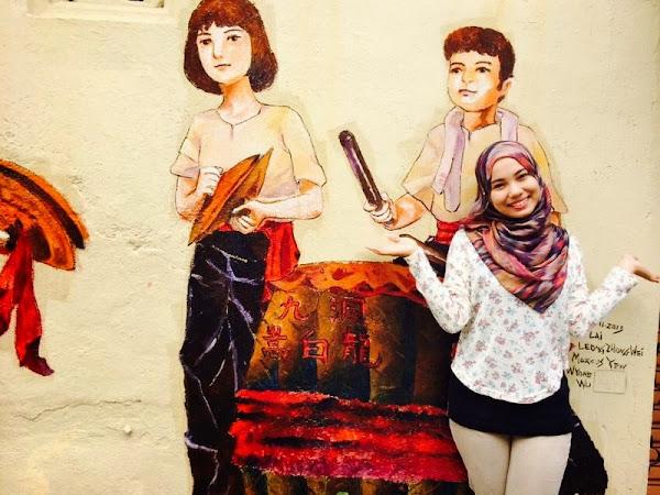 PhotoDiary ♥ Ipoh Art Street, Jalan Masjid