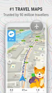 MAPS.ME – Offline Map and Travel Navigation v9.0.4-Google APK