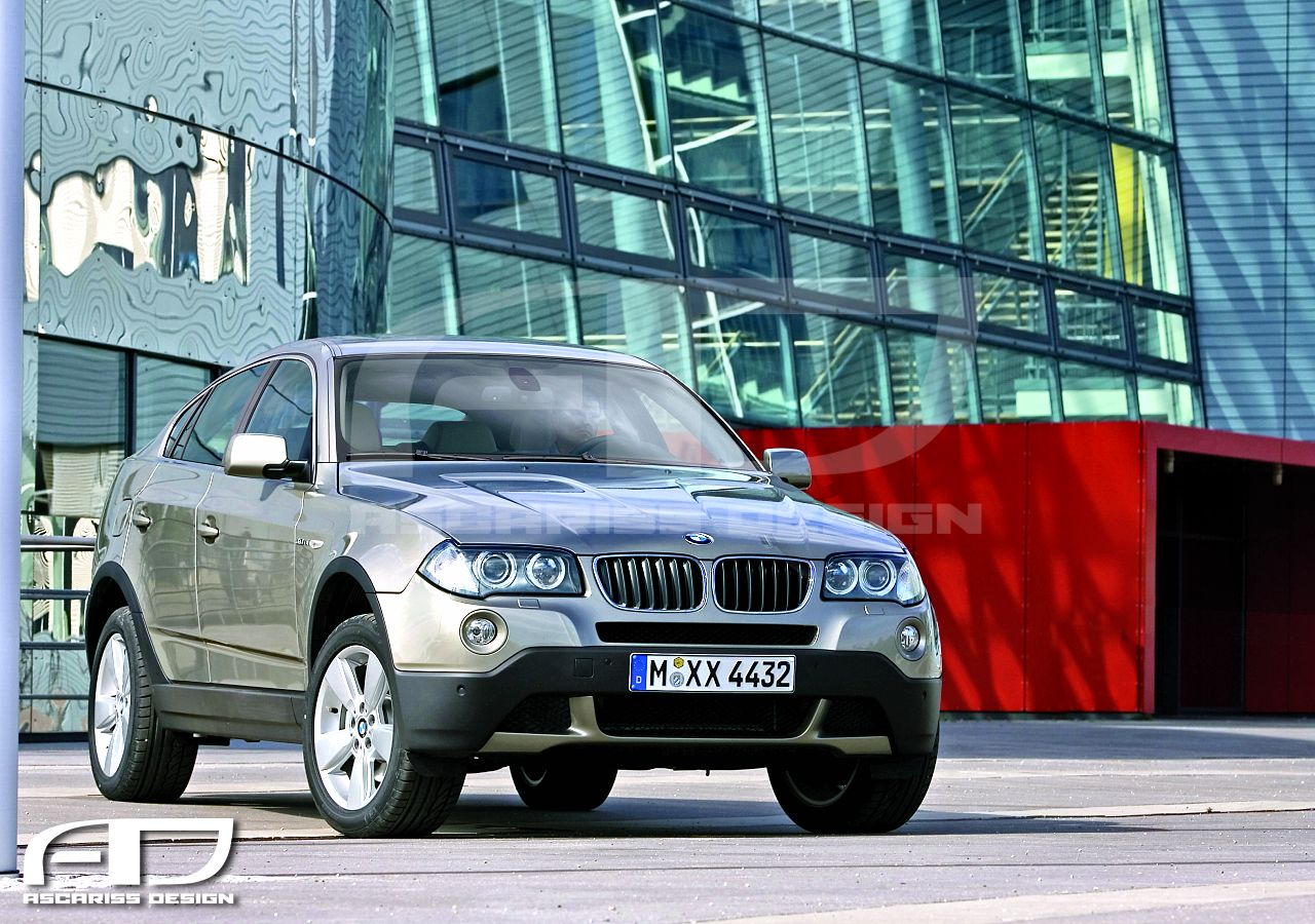 BMW X4 (E83 generation) Front View