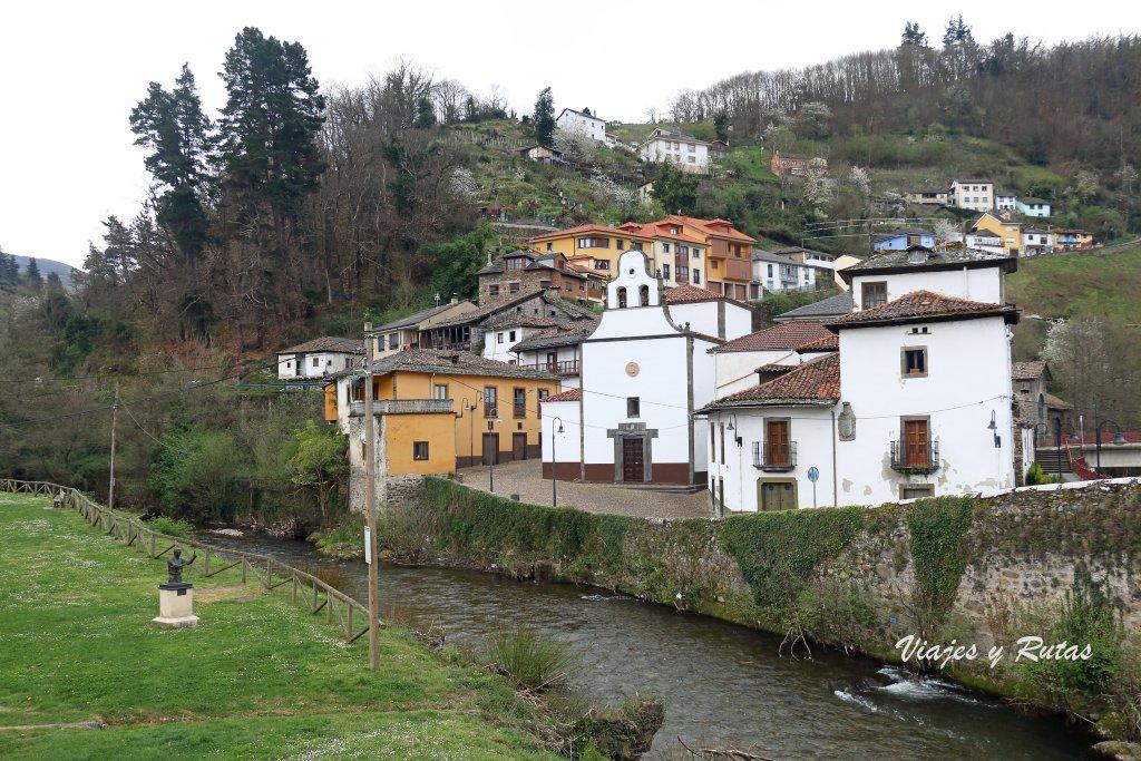 Barrio de Entrambasaguas de Cangas del Narcea