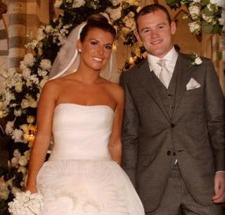 4. Wayne Rooney & Coleen McLoughlin - $8 juta