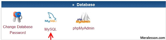 Create Mysql User And Database