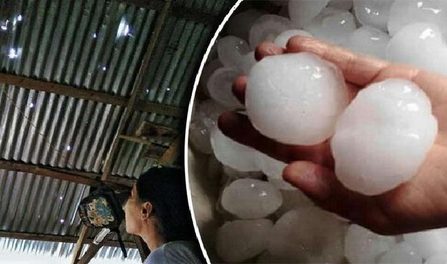 Hujan Batu ES Mengantam Myanmar 8 Tewas 7.500 Rumah Rusak