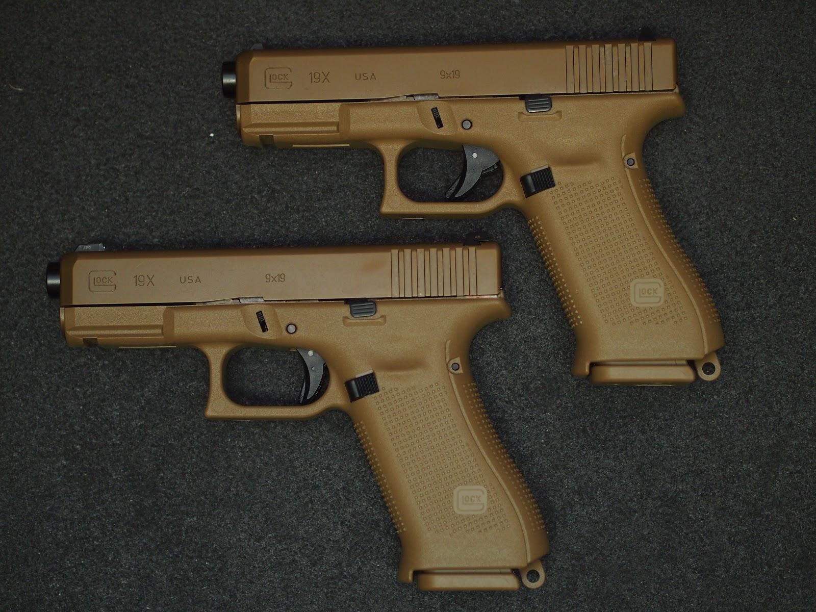 Mister Donut's Firearms Blog: Glock 19x Canadian version