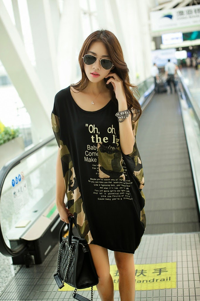 Black O-Neck Letter Printing Short Sleeve Cotton Maternity T-Shirt