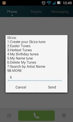 how to remove skiza tunes from safaricom line step 2