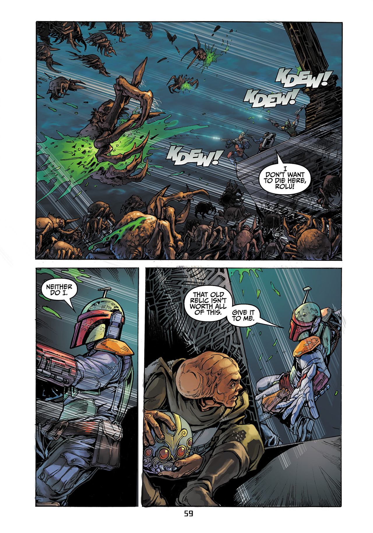 Read online Star Wars Adventures comic -  Issue # Issue Boba Fett and the Ship of Fear - 60