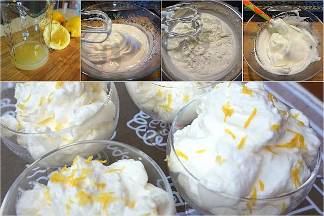 Mousse de limón fácil y rápido. Tu postre en 10 minutos.