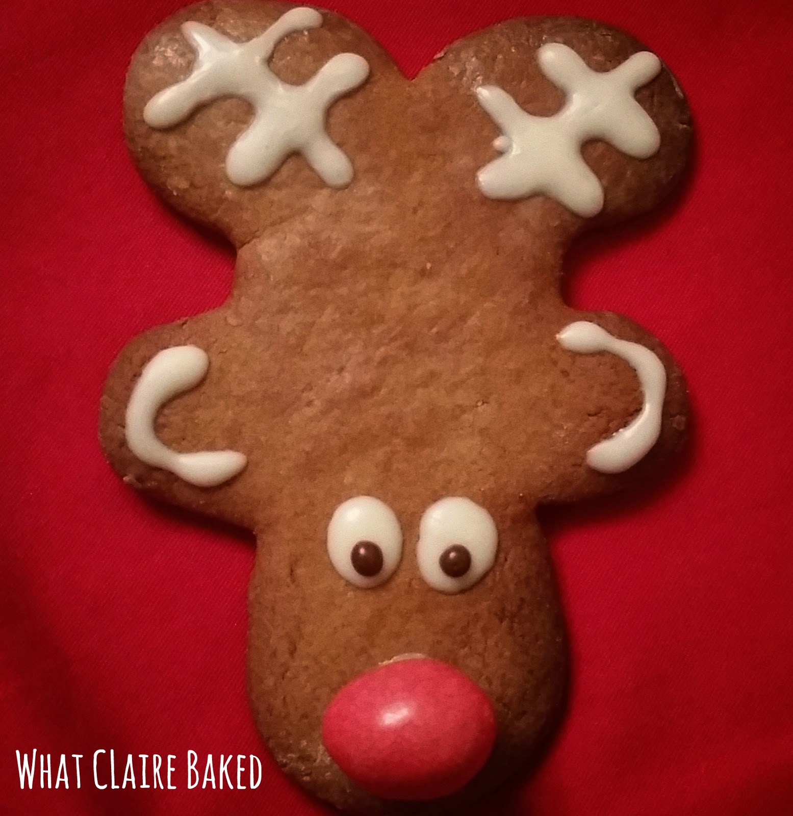 What Claire Did Reindeer Ginger Biscuits