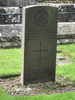 Douglas Haig's grave at Dryburgh Abbey