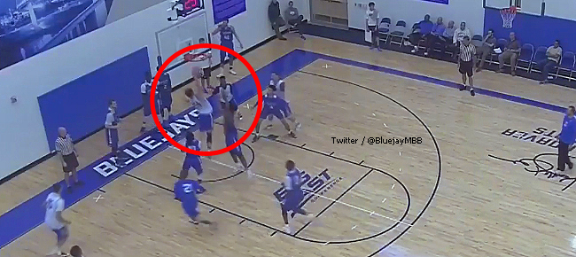 Kobe Paras' MONSTER Slam During Creighton Bluejays Practice (VIDEO)