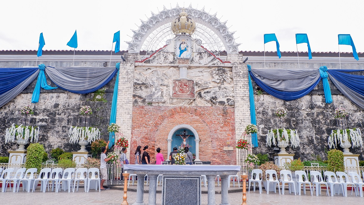 open church of Fort Pilar