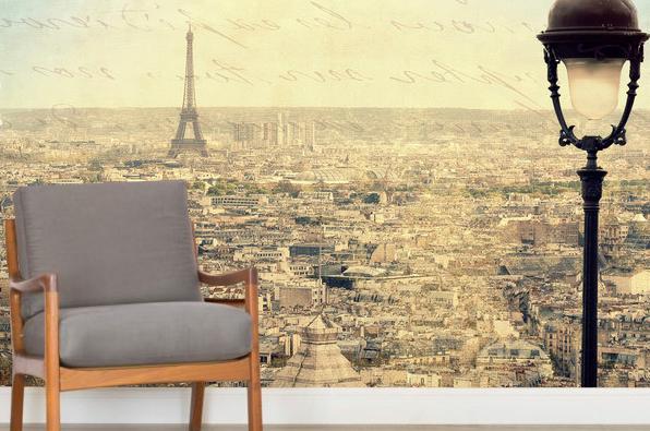 Kaupunki Tapetti  Maisematapetti Paris Tapetti Pariisi