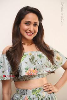 Actress Pragya Jaiswal Stills in Floral Dress at turodu Interview  0013.JPG