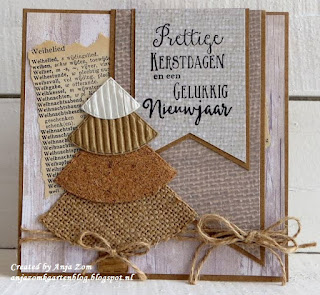 Image result for cards made using Marianne Christmas Tree die CR1385