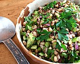 Lucky Black-Eyed Pea Salad
