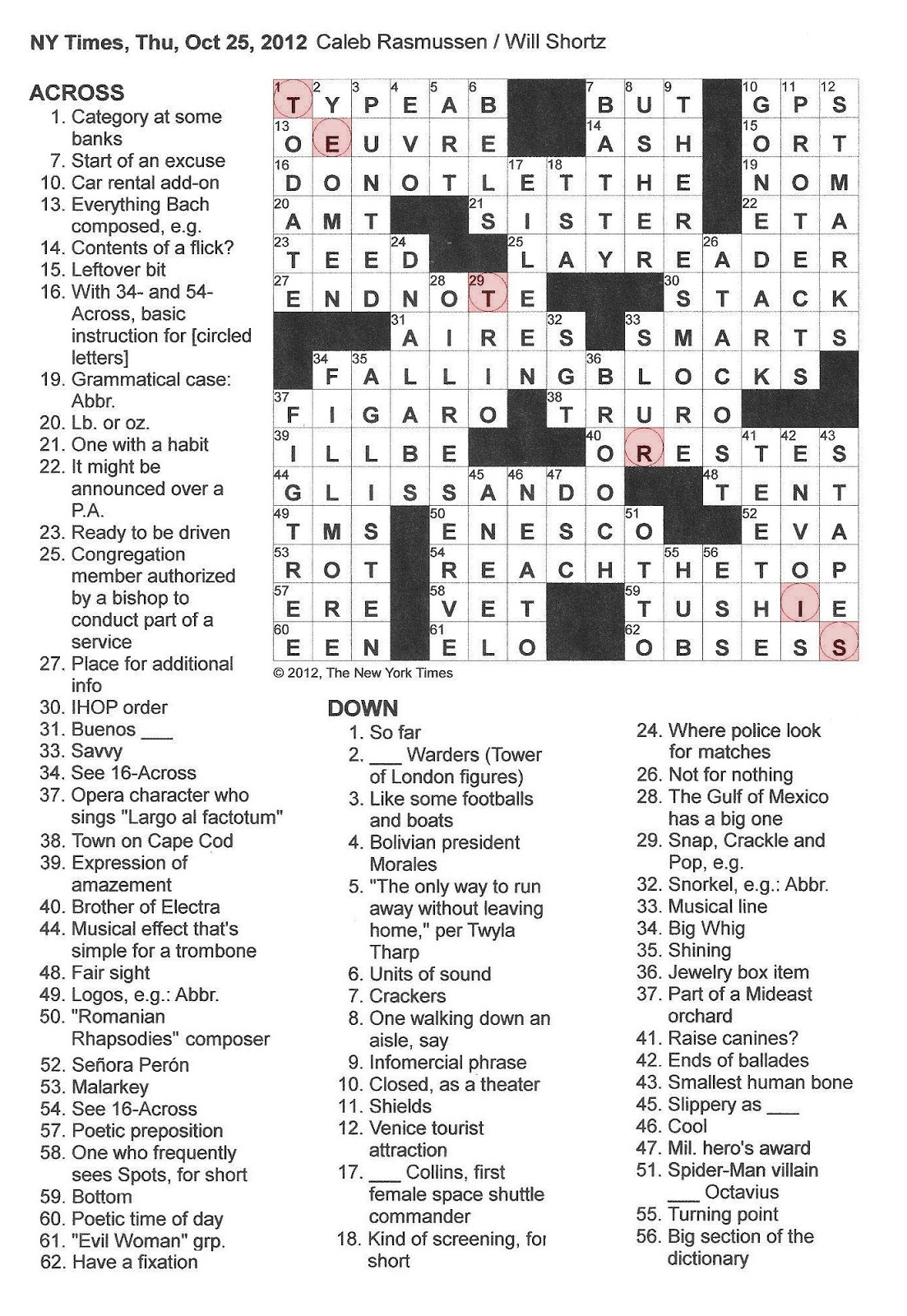 photograph regarding New York Times Crossword Printable Free Sunday named Clean York instances Crossword Puzzle Printable sunday marketing consultant