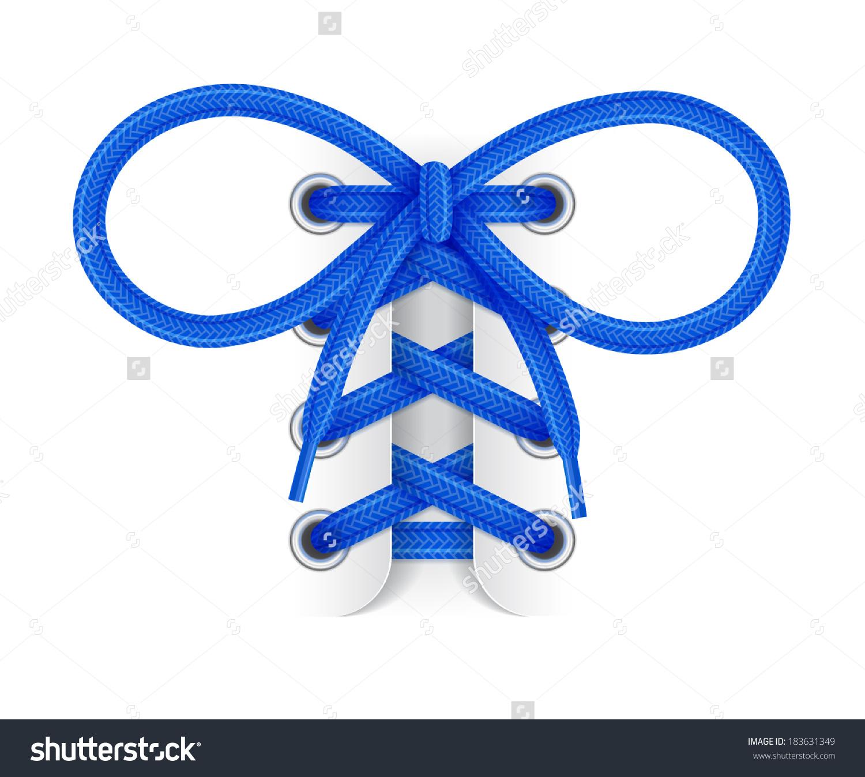Black Bow Shoe Lace