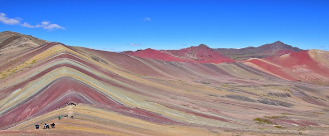 Cerro Colorado Vinicunca, rainbow mountain