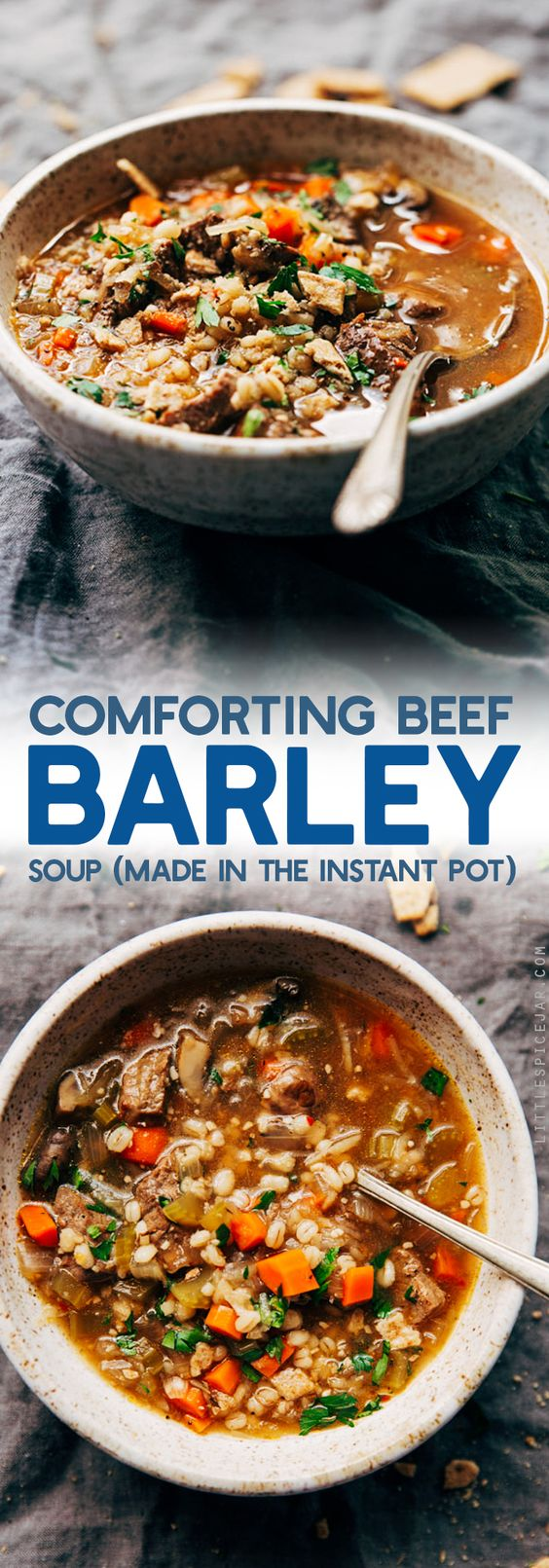 Comforting Beef Barley Soup Recipe