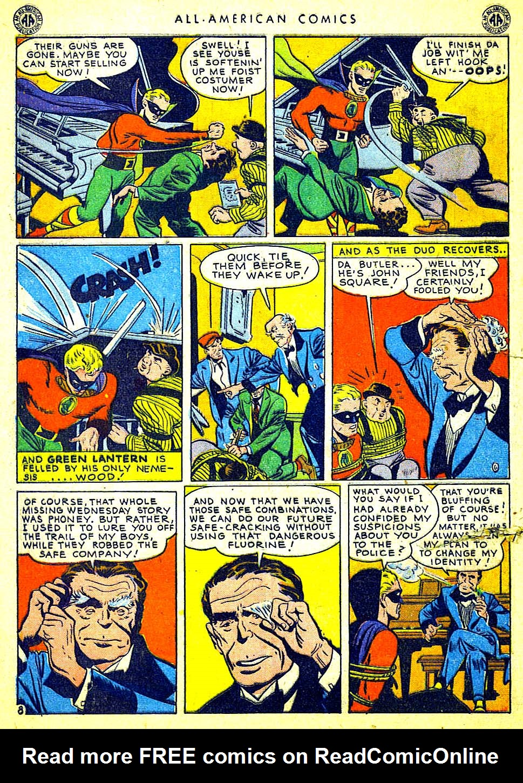 Read online All-American Comics (1939) comic -  Issue #65 - 10