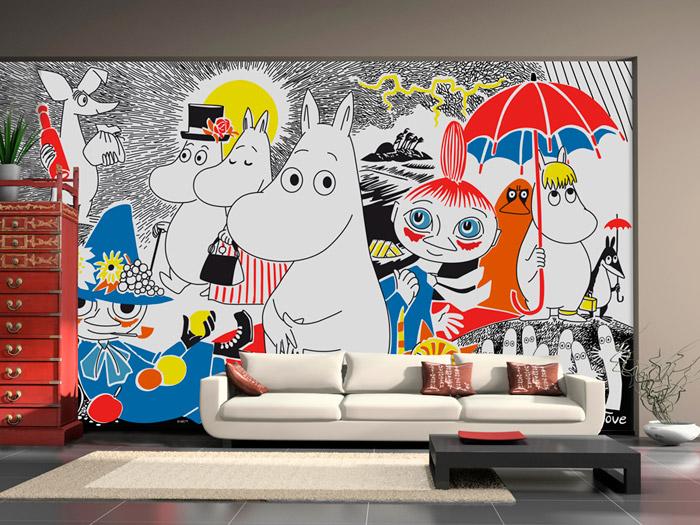 decorando casas Crianças Decoração idéias parede
