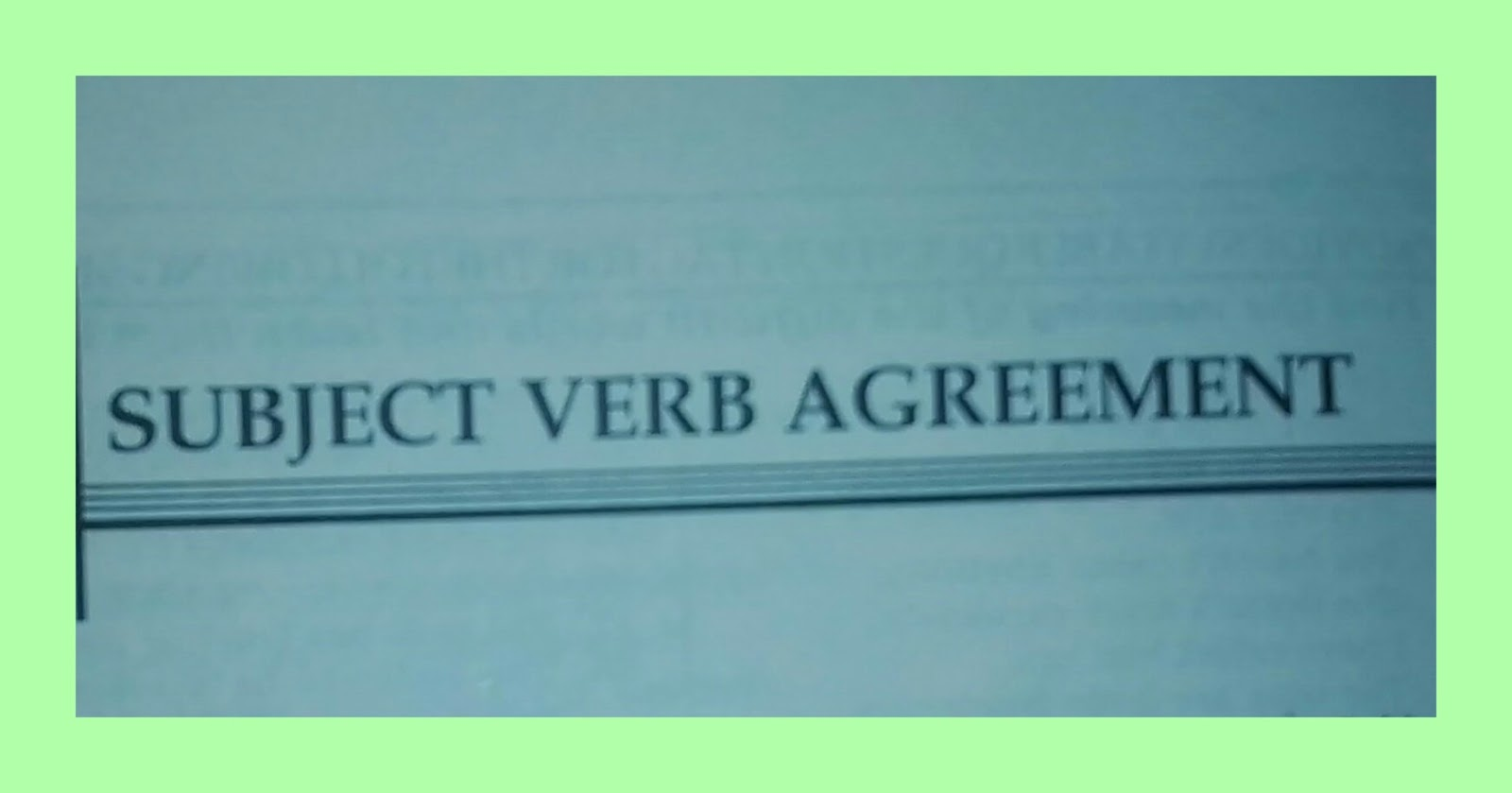 Subject Verb Agreement 21 Golden Rules For Ssc Cgl 2017 Bank