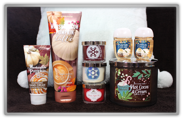 Bath & Body Works Delicious Cozy candle Haul and Review favorites beauty blogger blog winter christmas  cozy favorites