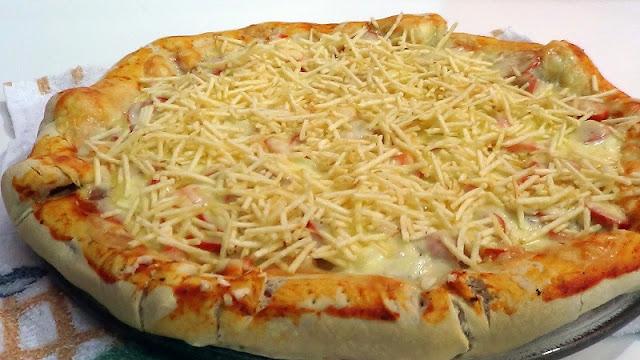 Recheio para Pizza de Batata Palha (Imagem: Reprodução/Adenilson Pizzaiolo)