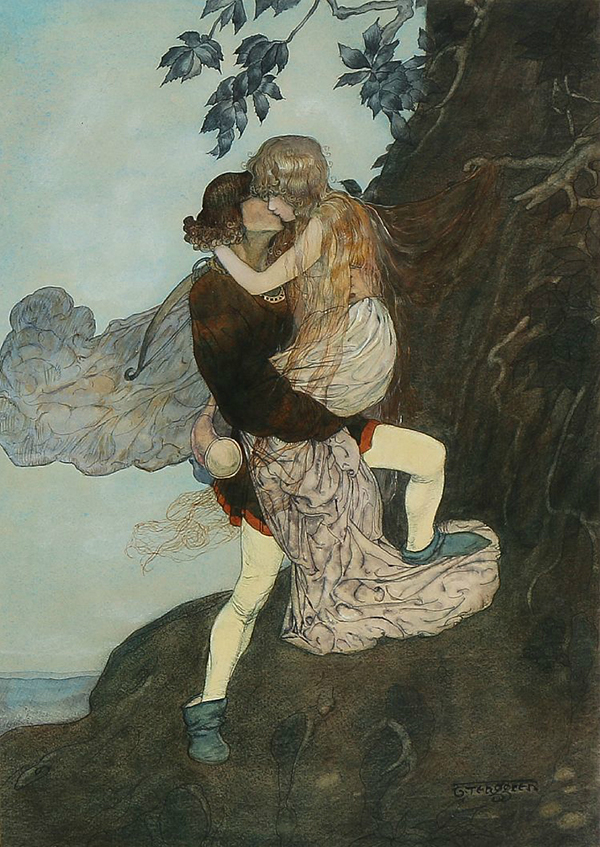 Grimms Fairy Tales Original Artwork Hansel Gretel C1930 | eBay |Grimm Fairy Tales Original Art