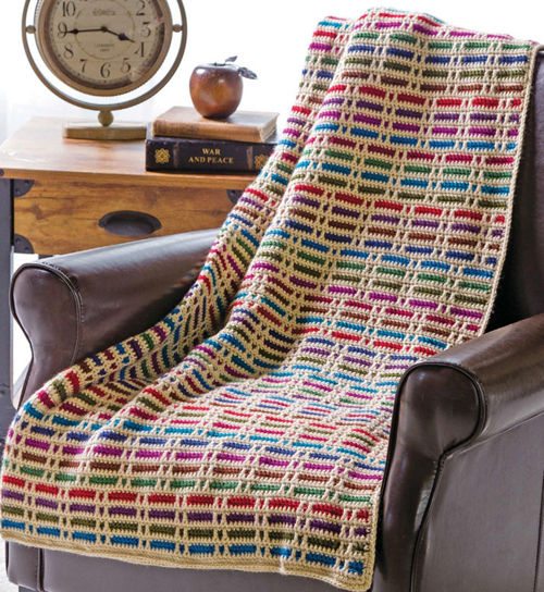 Stripes Throw - Free Pattern