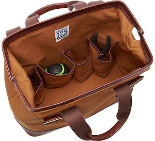 Bob Vila Signature Series Workman's Tool Bag inside view