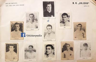 Hajduk Split album sličice poen
