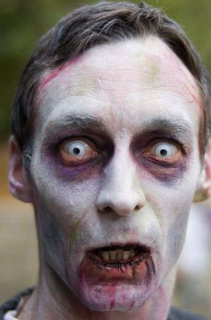 Zombie Face Painting Ideas For Halloween