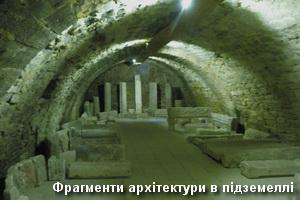 Архітектура в замковому підземеллі