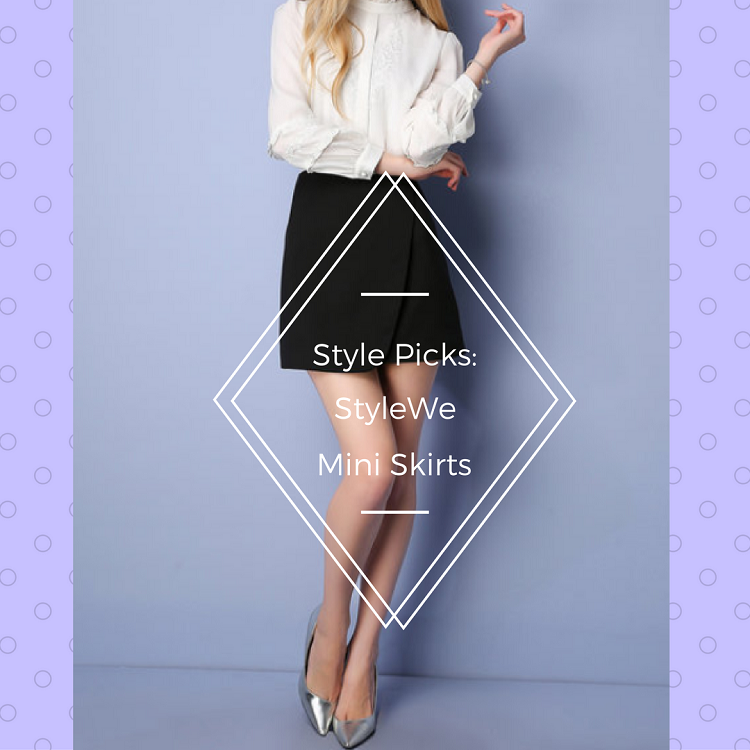 the budget fashion seeker - StyleWe mini skirts 1