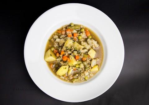 Vegetarian Mince Soup