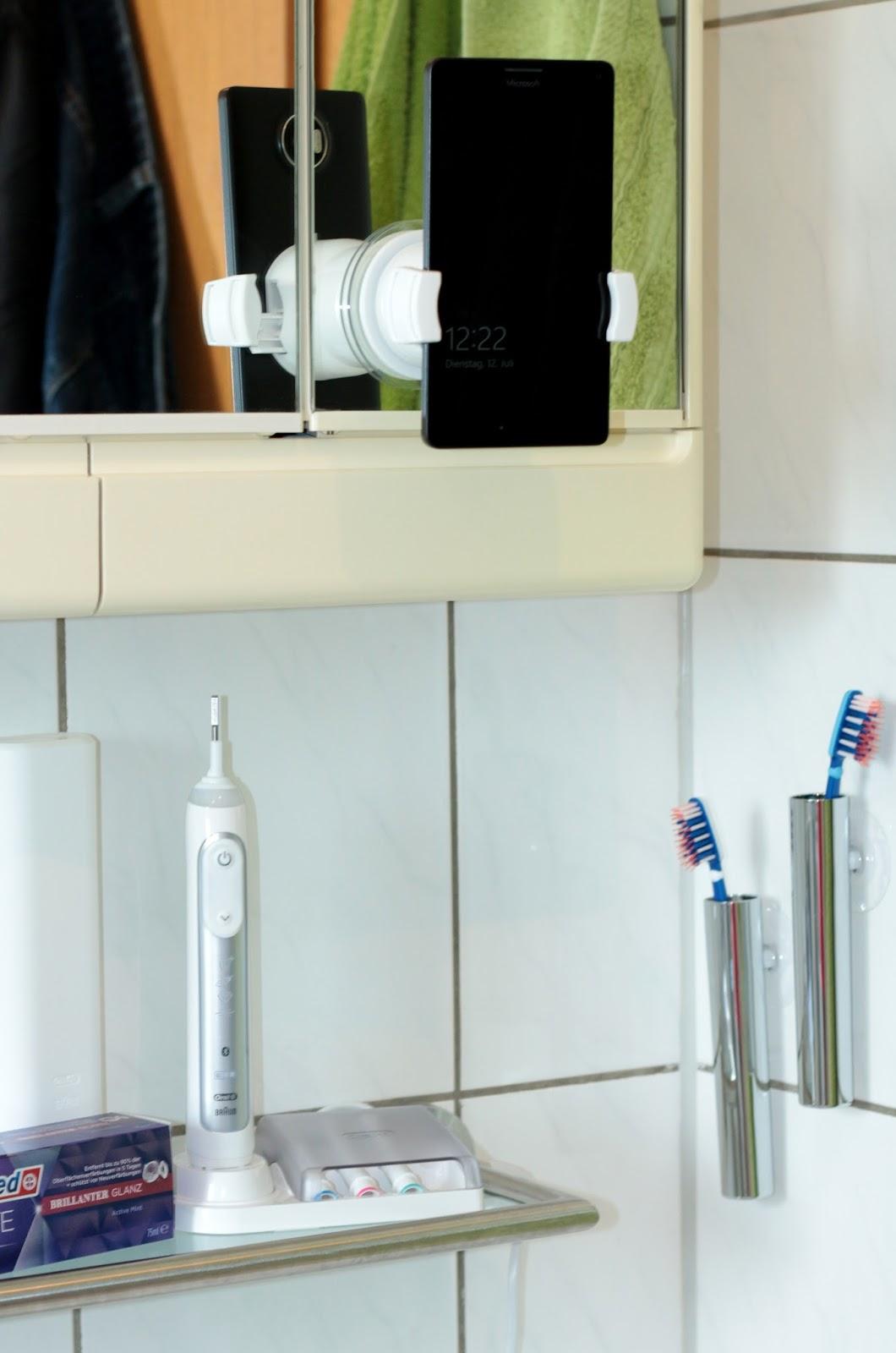 revierm dchen oral b genius 8000 eine neue art des z hneputzens. Black Bedroom Furniture Sets. Home Design Ideas